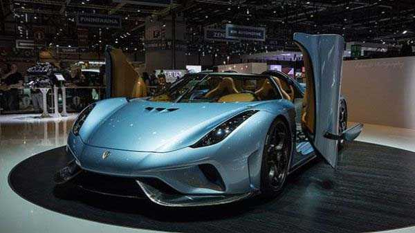 Koenigsegg Regera – $1.9 million