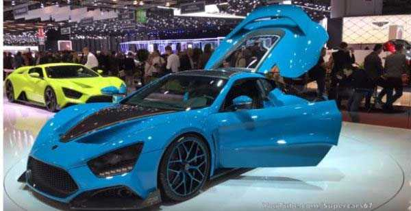 Zenvo TS1 GT – $1.2 million