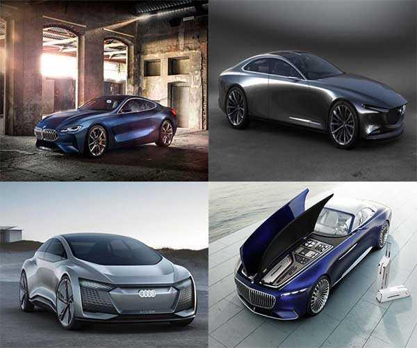 7 концептуальных автомобилей будущего