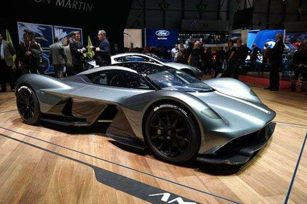 Aston Martin Valkyrie – $3.2 million
