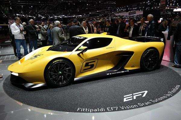 Fittipaldi EF7 – $1.5 million