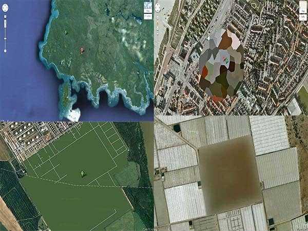 Интересные и странные места на Google Maps