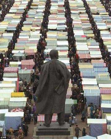 Ленин следит за базаром