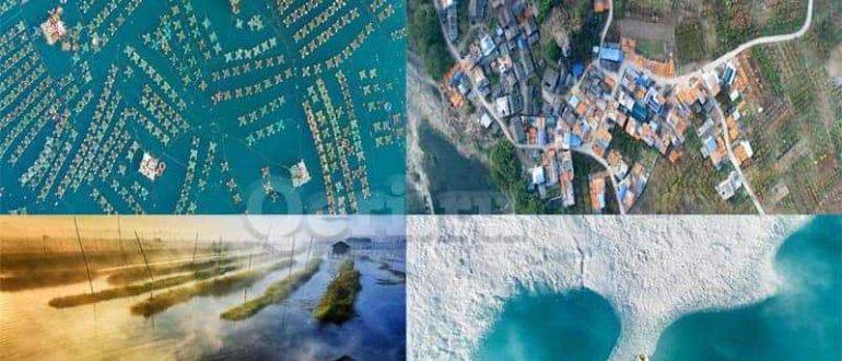 Лучшие аэрофотоснимки 2017 года (10 фото)