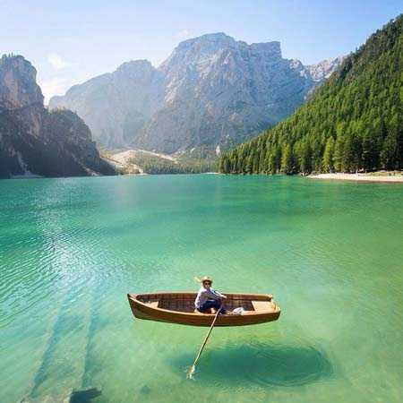Озеро Брайес, Италия