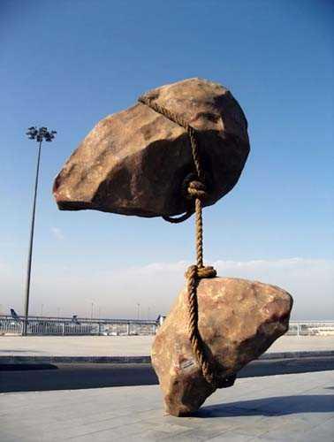 Плавающий камень Смабан Аббас