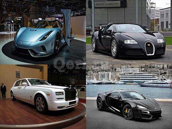 Самые дорогие автомобили в мире 2017