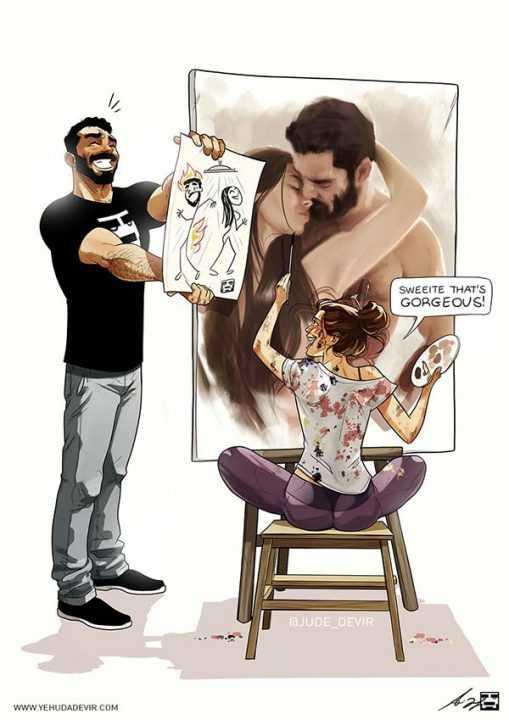 Новые комиксы про повседневную жизнь