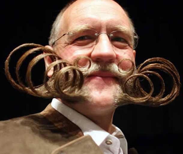 Смешные бороды и усы (25 фото)