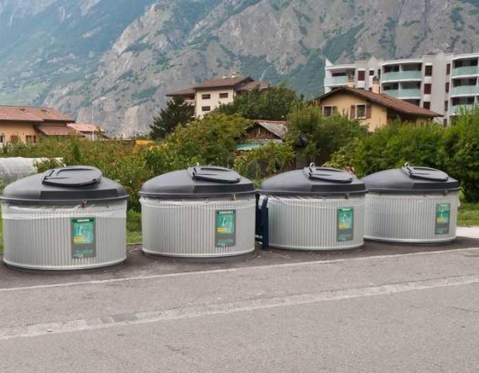 Сортировка и переработка мусора