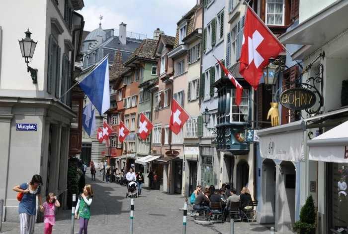 Адреса в Швейцарии
