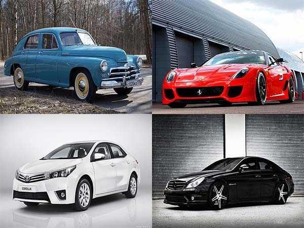 Интересные факты о истории автомобильной