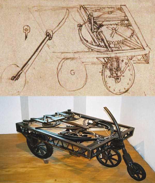 Машины Леонардо да Винчи