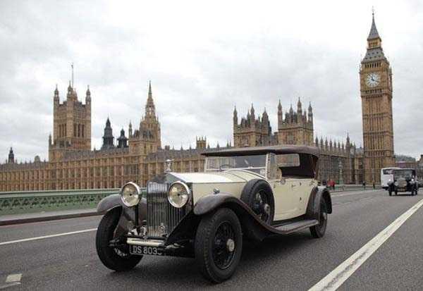 Rolls Royce в Лондоне