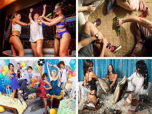 развлечения для взрослых на вечеринке